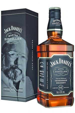 JACK DANIEL'S MASTER DISTILLER N°5 TENNESSE WHISKEY 45° 70CL