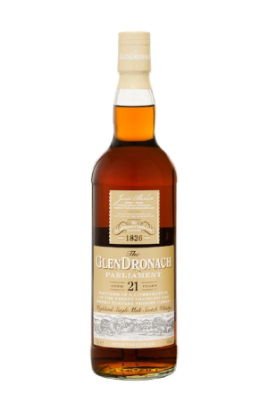 GLENDRONACH 21 ANS PARLIAMENT WHISKEY 48° 70CL