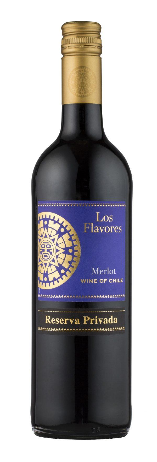 LOS FLAVORES MERLOT 2019 75CL