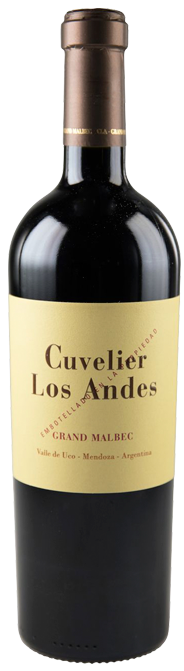 CUVELIER LOS ANDES GRAND MALBEC ROUGE 2015 75CL